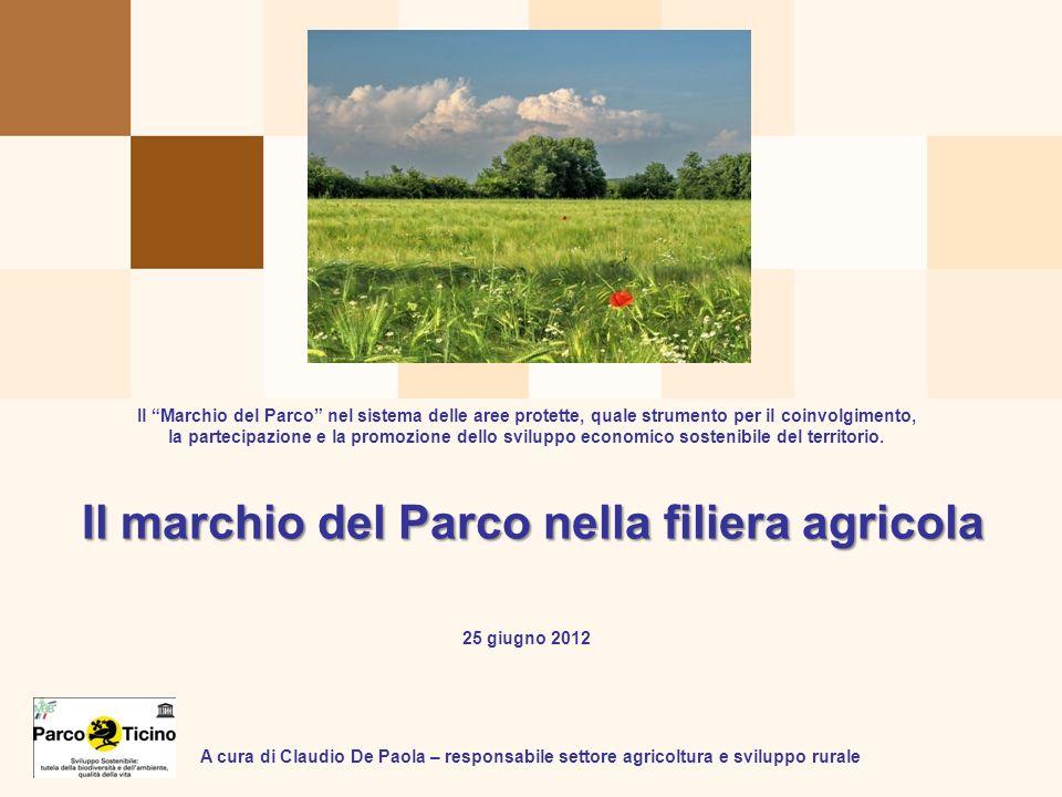 Il marchio del Parco nella filiera agricola
