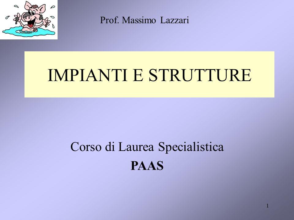 Corso di Laurea Specialistica PAAS
