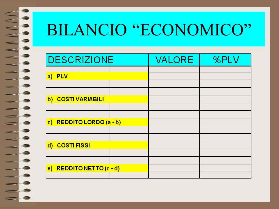 BILANCIO ECONOMICO 2. Diverso dal bilancio CONTABILE….. BILANCIO ECONOMICO - evidenzia il PROFITTO.