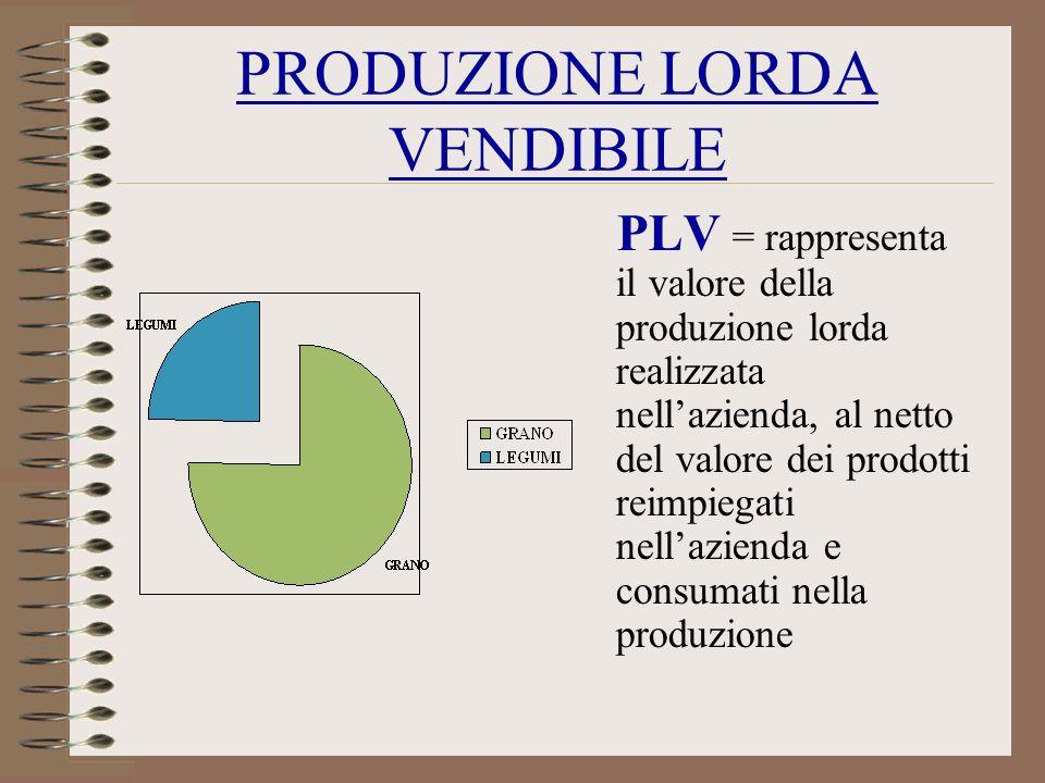PRODUZIONE LORDA VENDIBILE