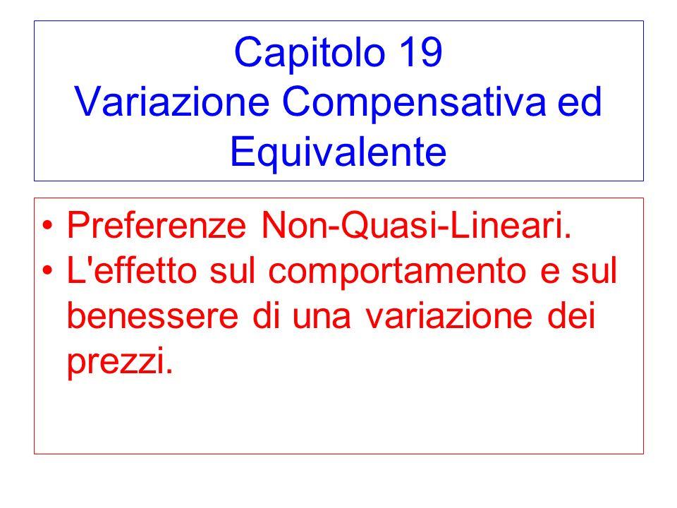 Capitolo 19 Variazione Compensativa ed Equivalente