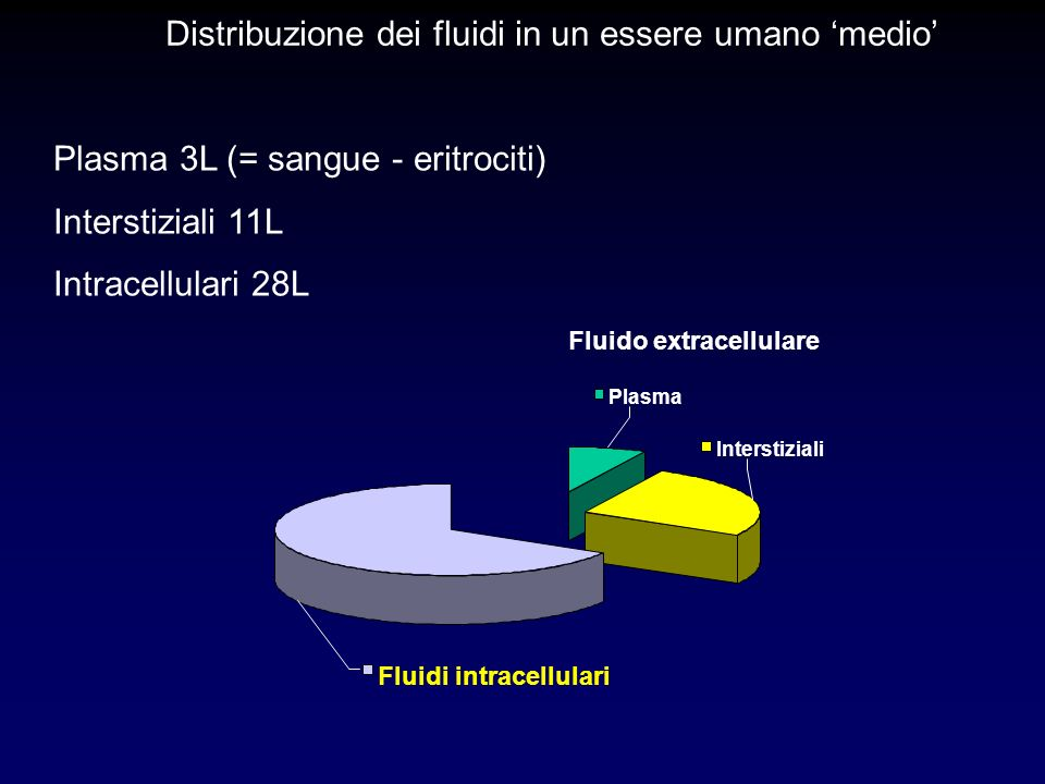 Fluido extracellulare
