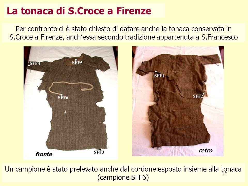 La tonaca di S.Croce a Firenze