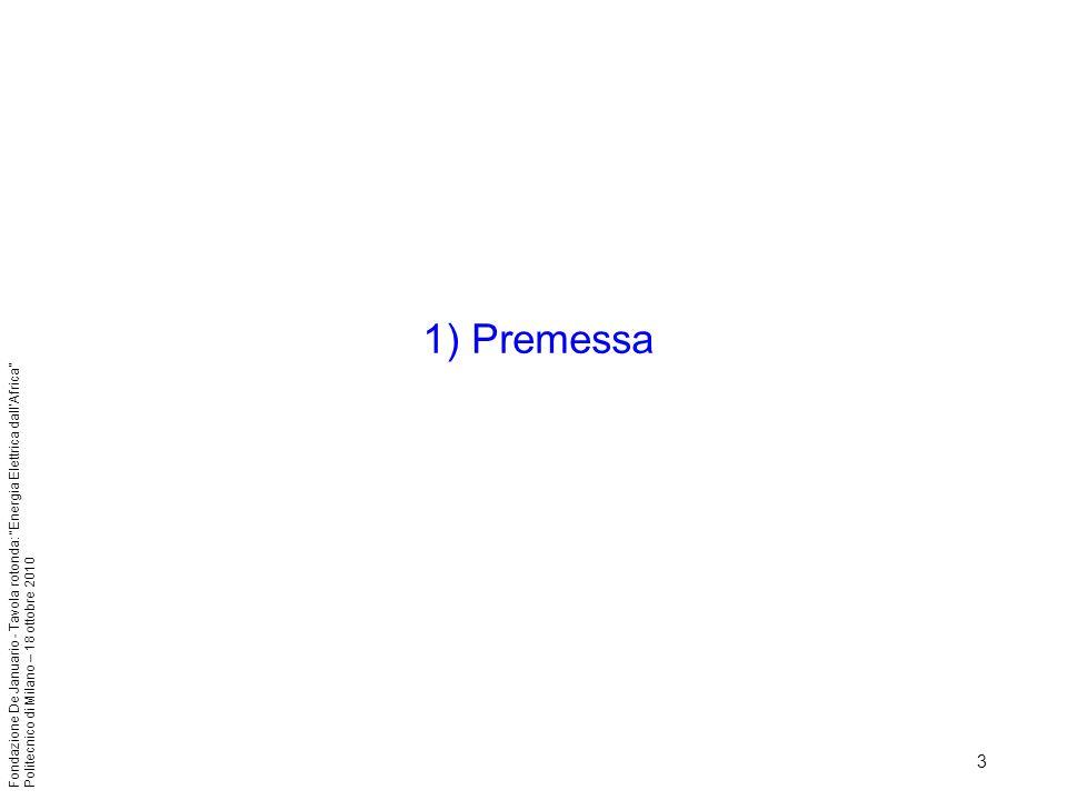 1) Premessa