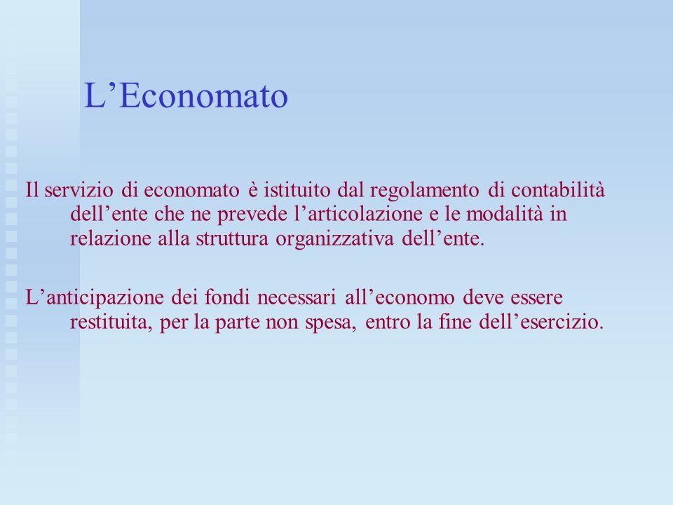 L'Economato
