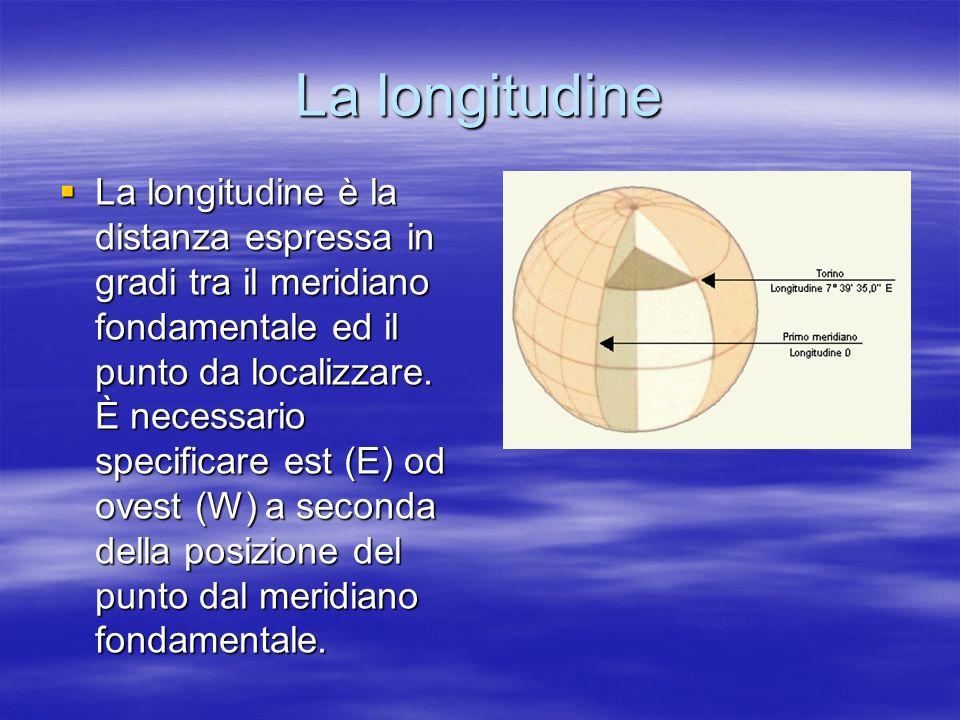 La longitudine