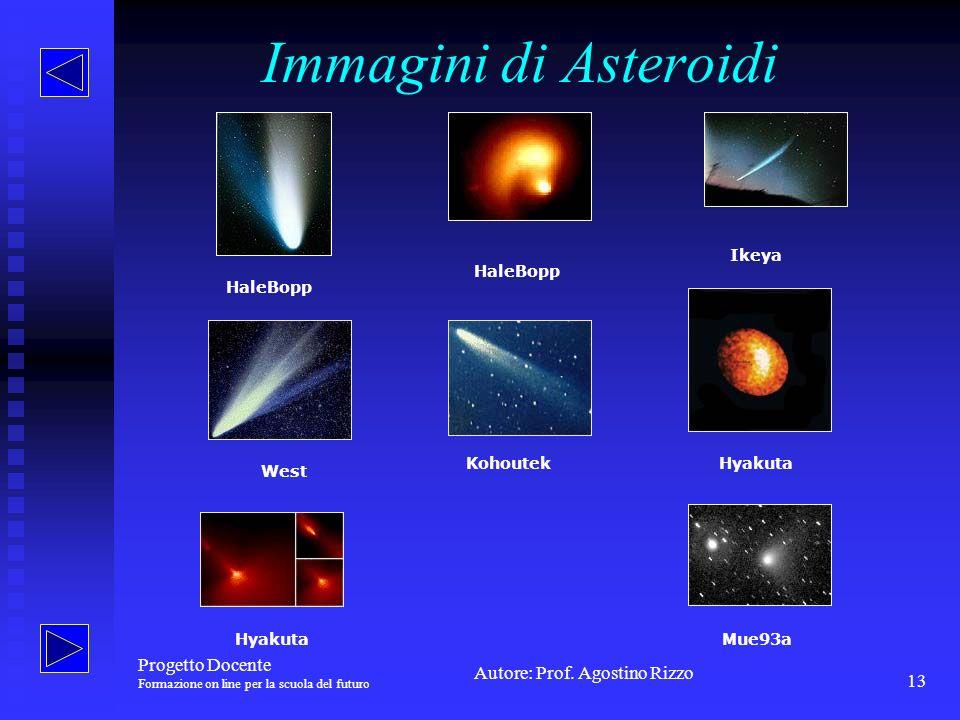 Immagini di Asteroidi Progetto Docente Ikeya HaleBopp HaleBopp