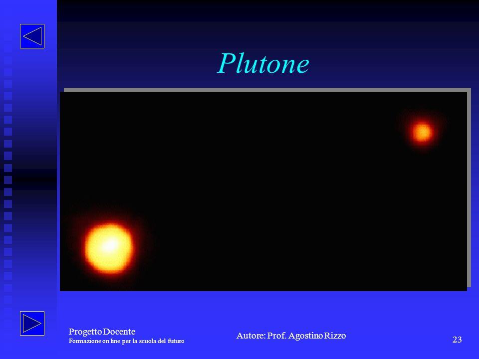 Plutone Progetto Docente Formazione on line per la scuola del futuro