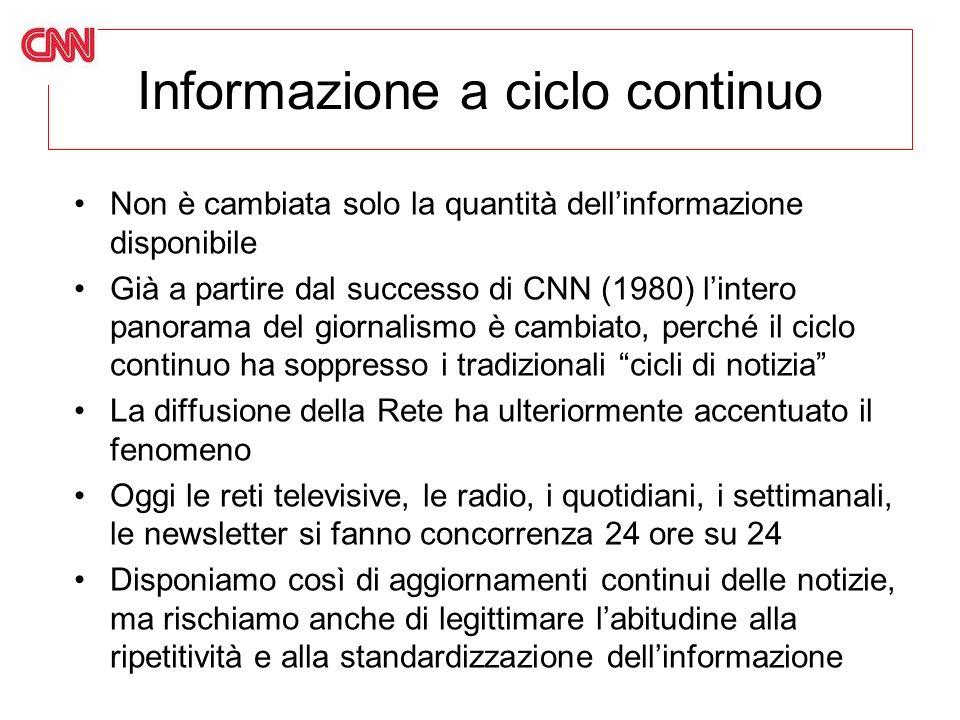Informazione a ciclo continuo