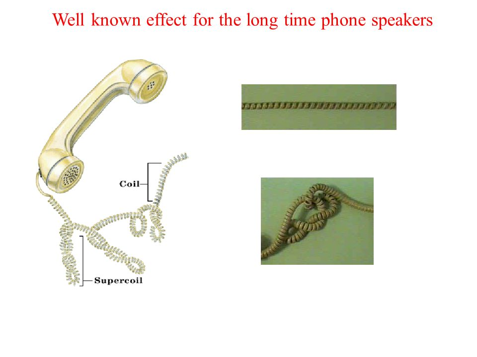 Well known effect for the long time phone speakers