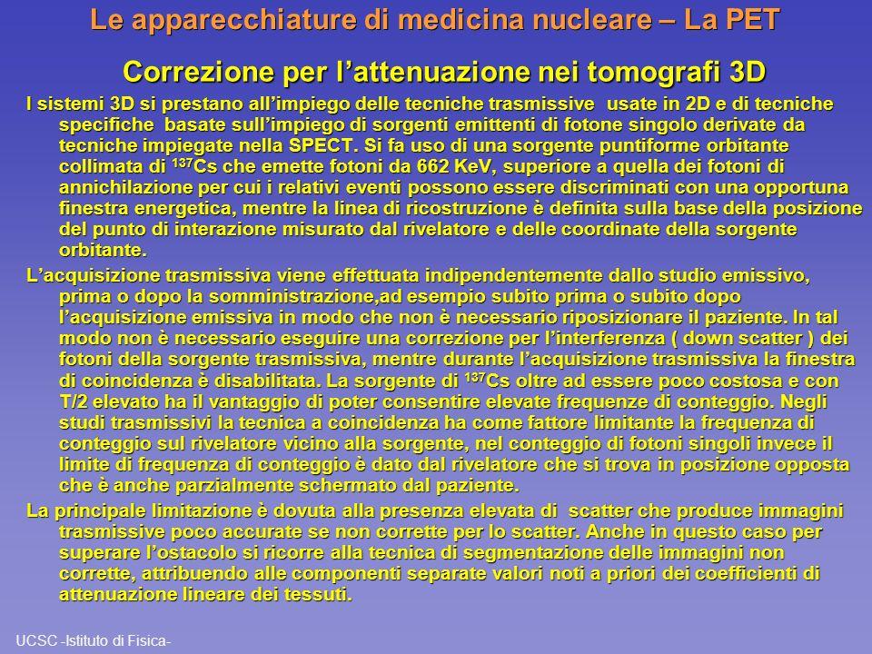 Le apparecchiature di medicina nucleare – La PET