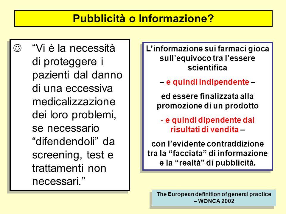Pubblicità o Informazione