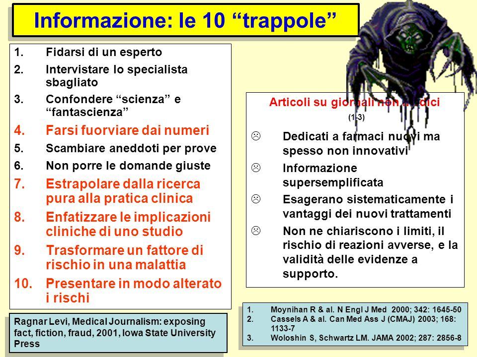 Informazione: le 10 trappole