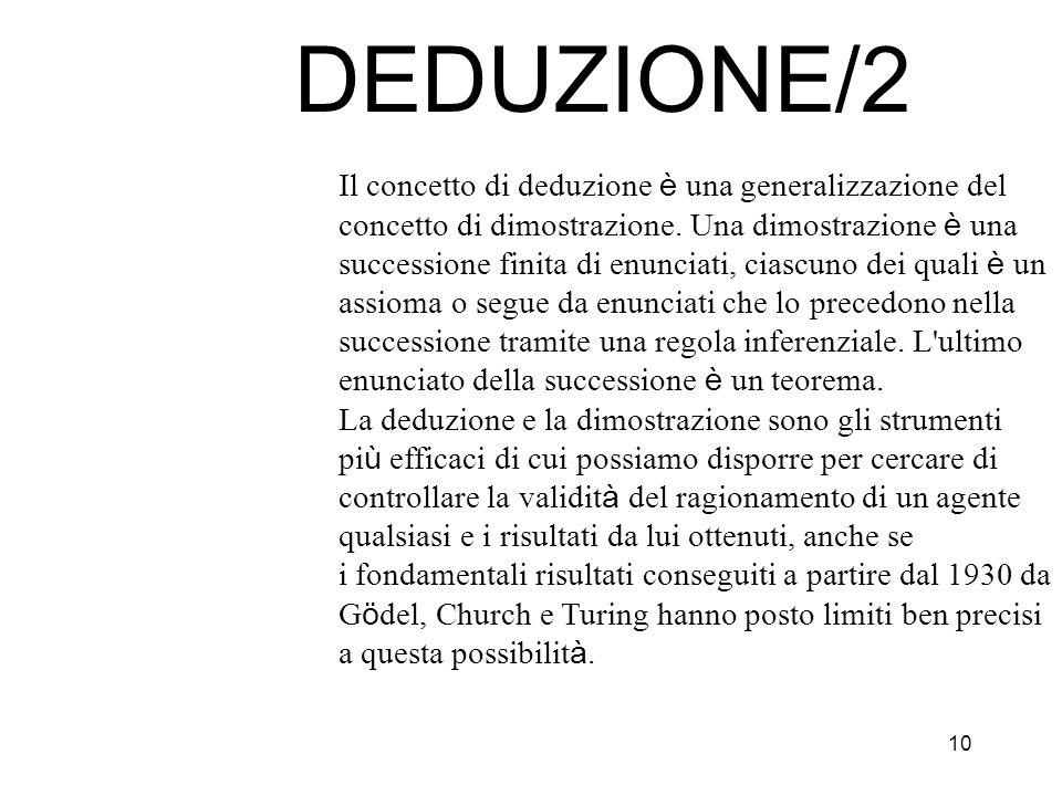DEDUZIONE/2