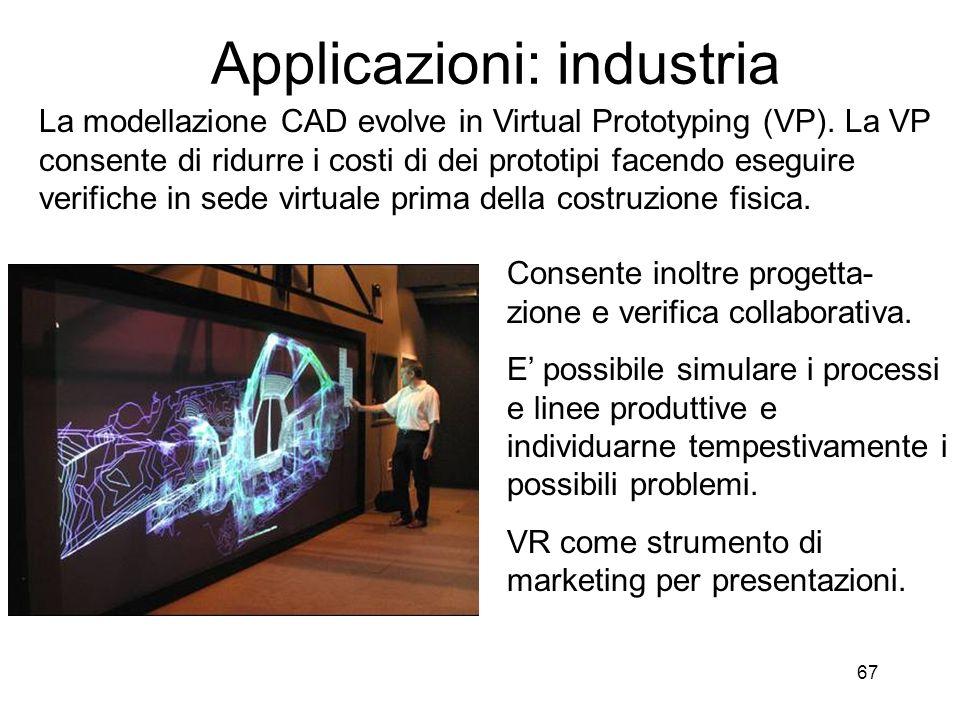 Applicazioni: industria