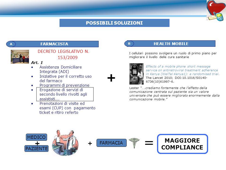 DECRETO LEGISLATIVO N. 153/2009