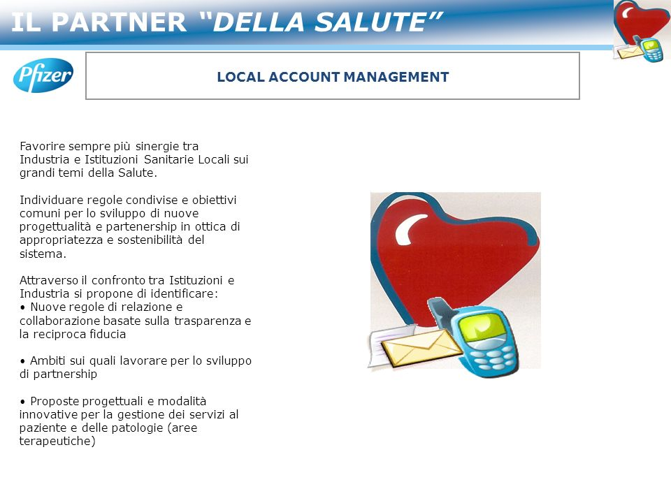 LOCAL ACCOUNT MANAGEMENT