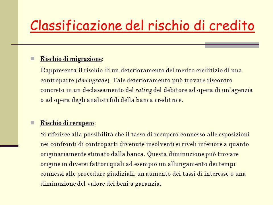 Classificazione del rischio di credito