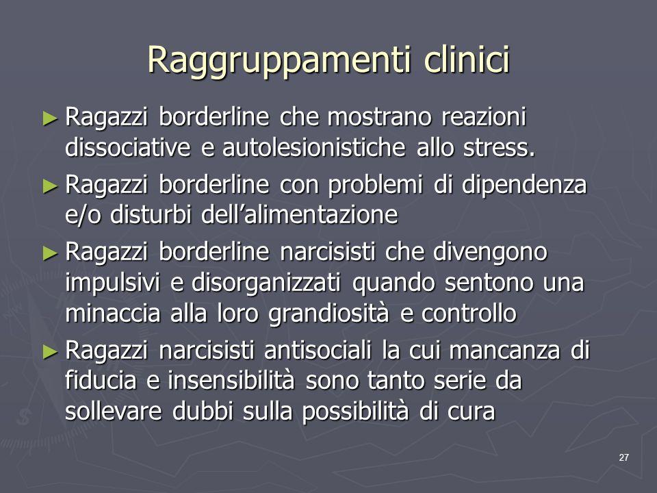 Raggruppamenti clinici