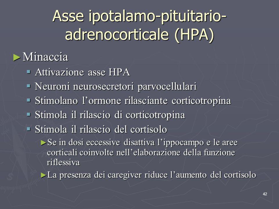 Asse ipotalamo-pituitario-adrenocorticale (HPA)