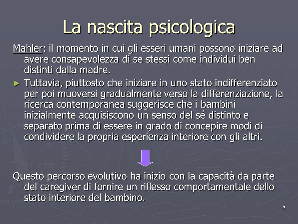 La nascita psicologica