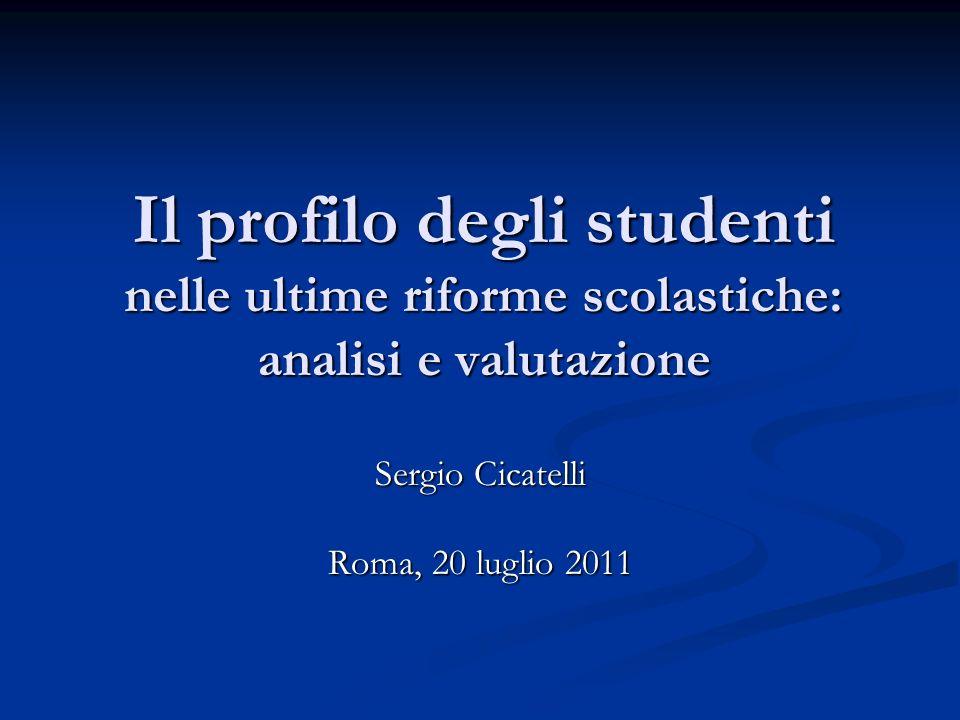 Sergio Cicatelli Roma, 20 luglio 2011