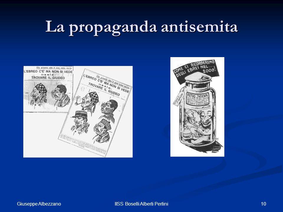 La propaganda antisemita