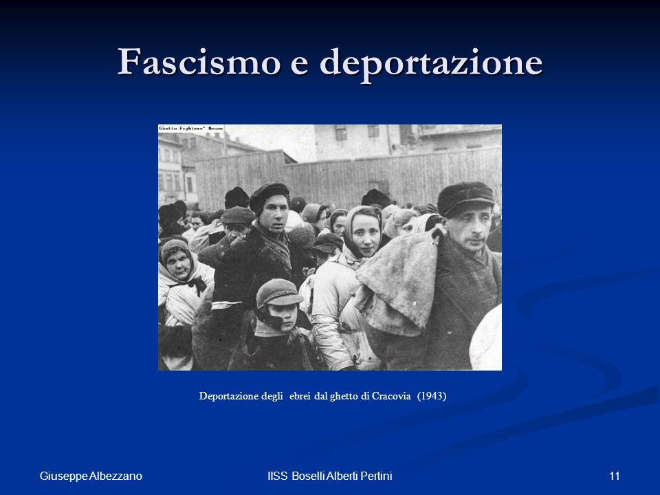 Fascismo e deportazione