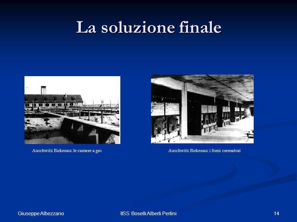 La soluzione finale Auschwitz Birkenau: le camere a gas