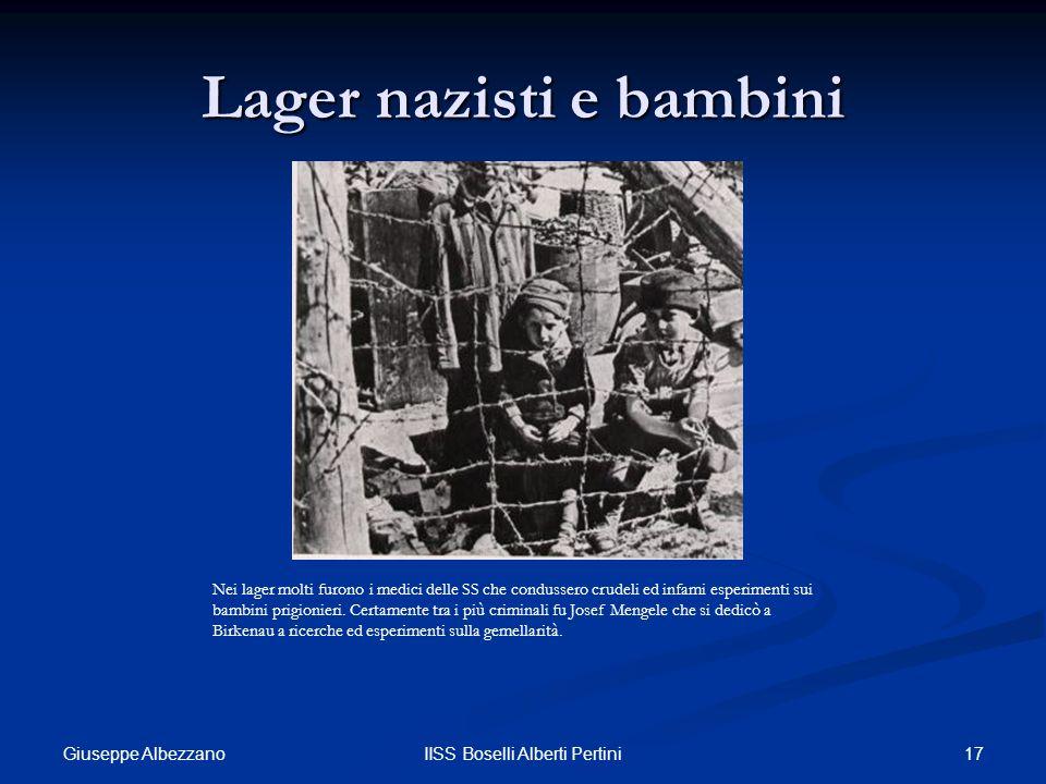 Lager nazisti e bambini