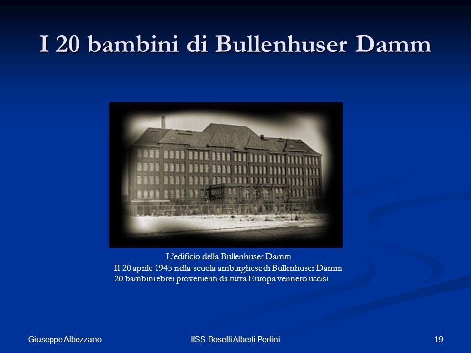 I 20 bambini di Bullenhuser Damm