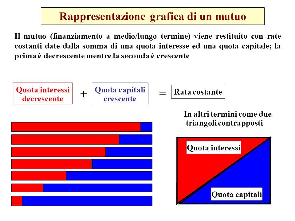 Rappresentazione grafica di un mutuo