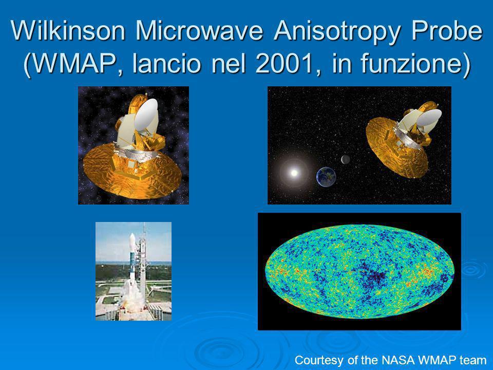 Wilkinson Microwave Anisotropy Probe (WMAP, lancio nel 2001, in funzione)