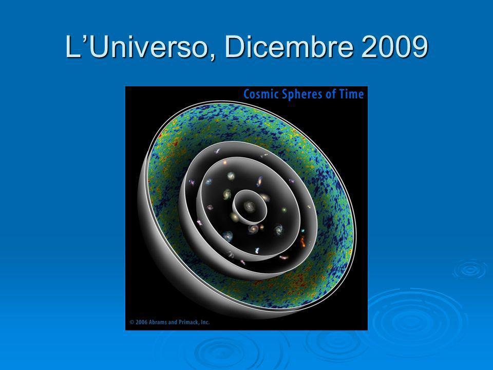 L'Universo, Dicembre 2009