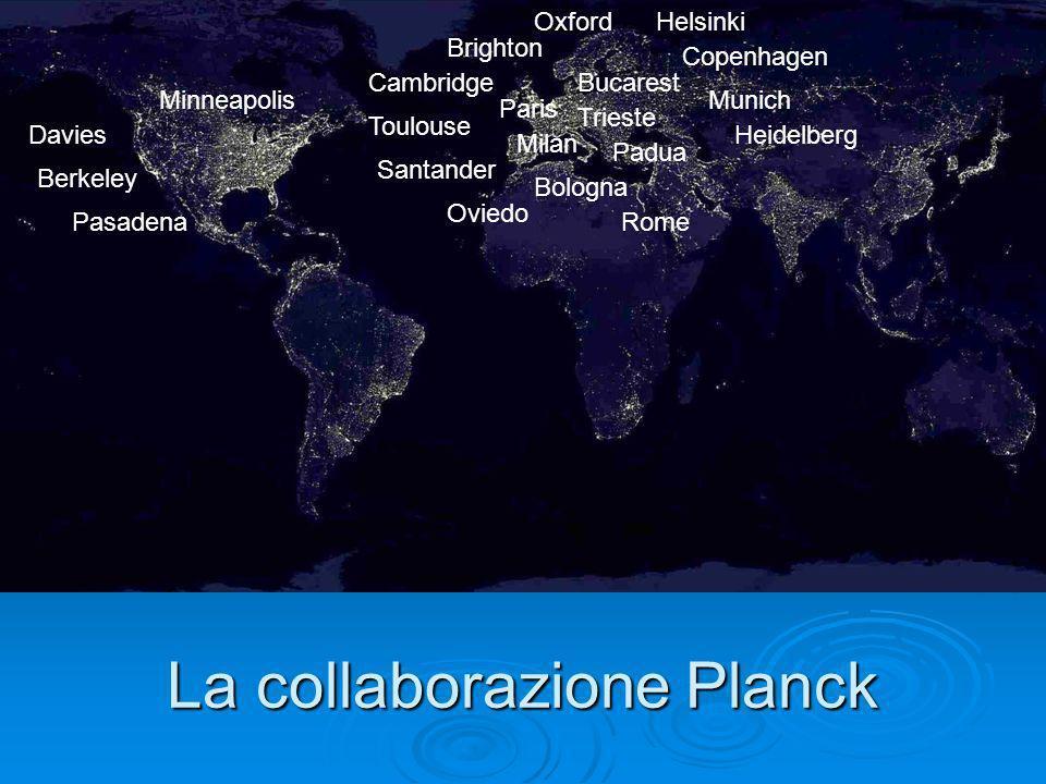 La collaborazione Planck