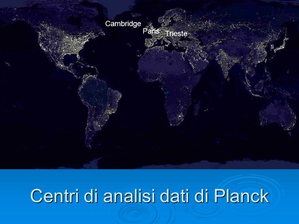 Centri di analisi dati di Planck