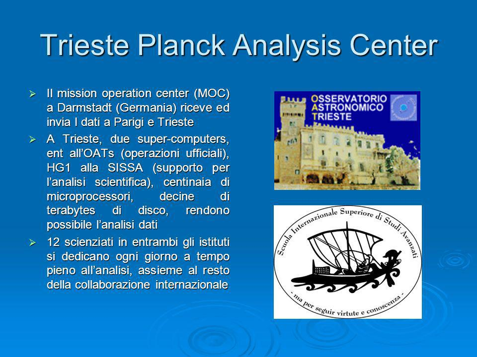 Trieste Planck Analysis Center