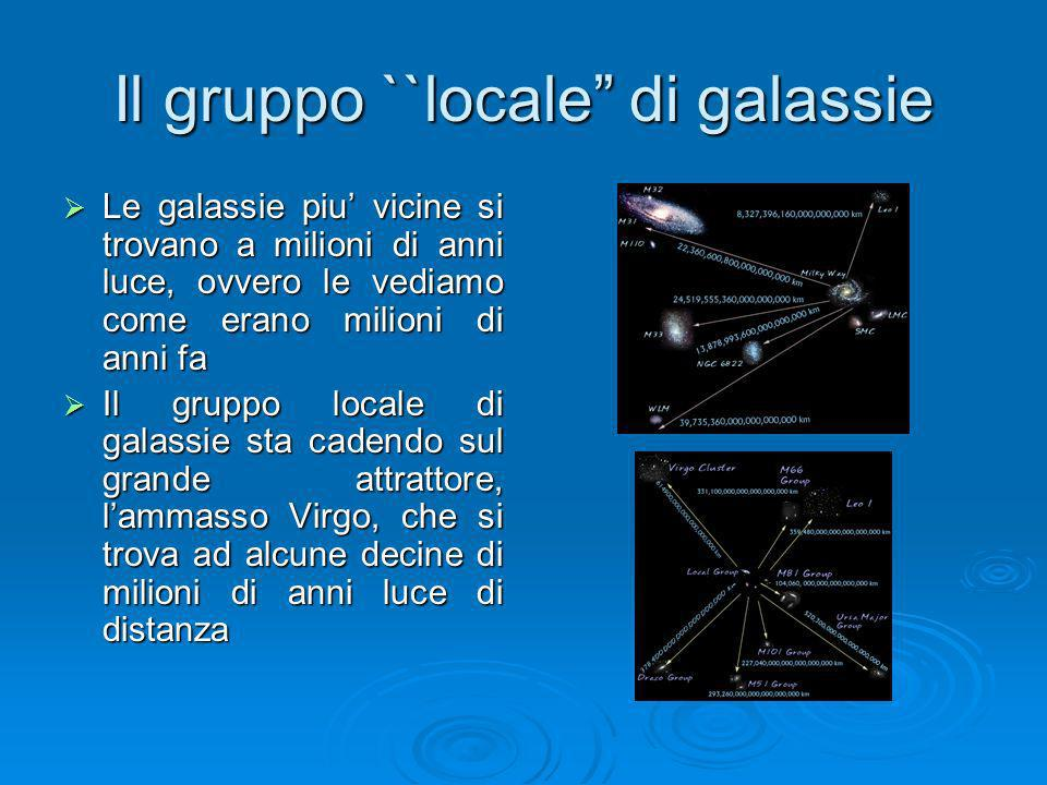 Il gruppo ``locale di galassie