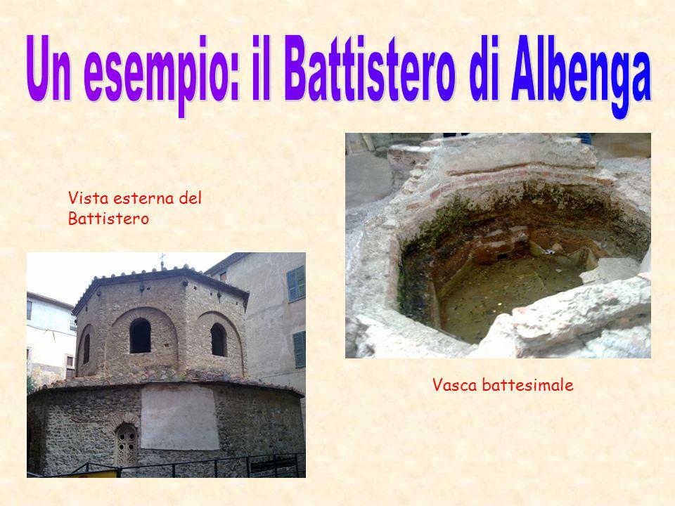 Un esempio: il Battistero di Albenga