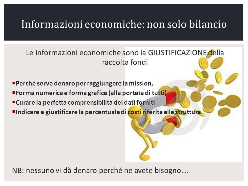 Informazioni economiche: non solo bilancio