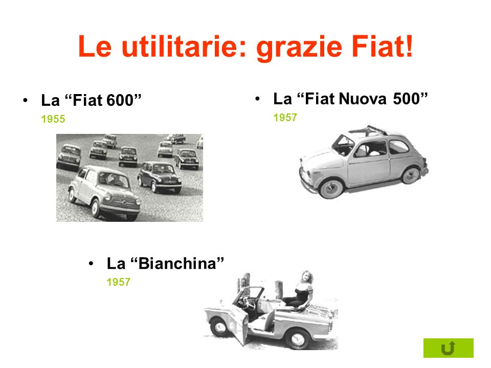 Le utilitarie: grazie Fiat!