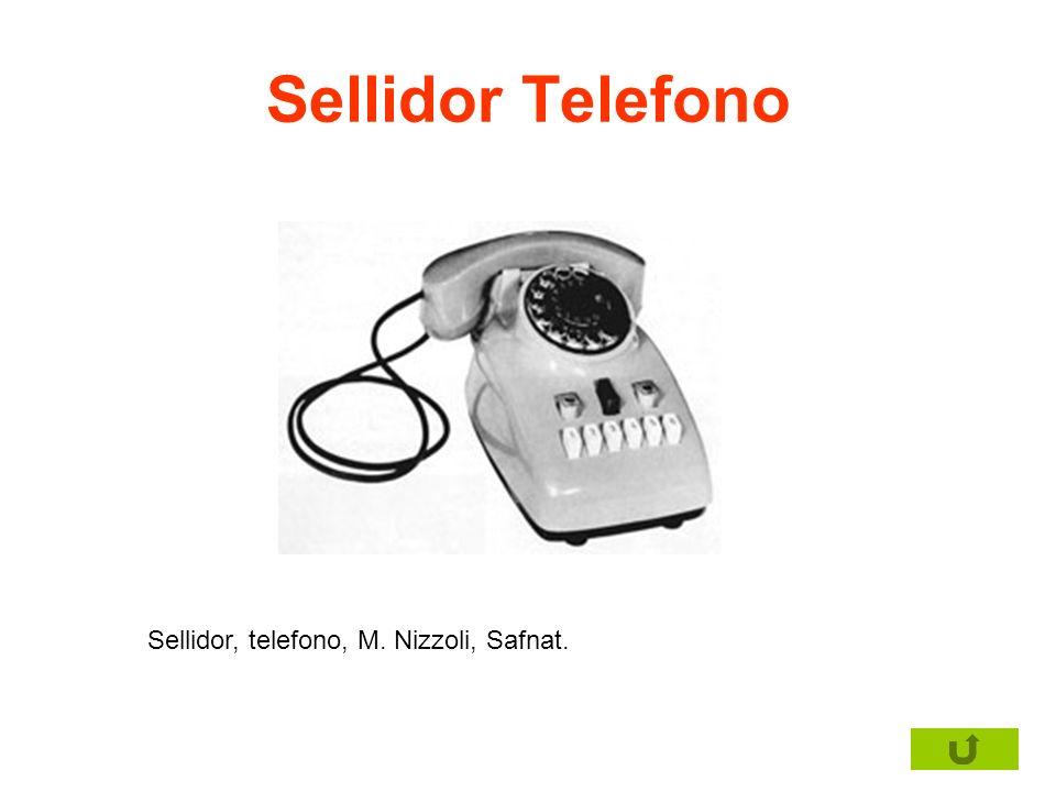 Sellidor Telefono Sellidor, telefono, M. Nizzoli, Safnat.