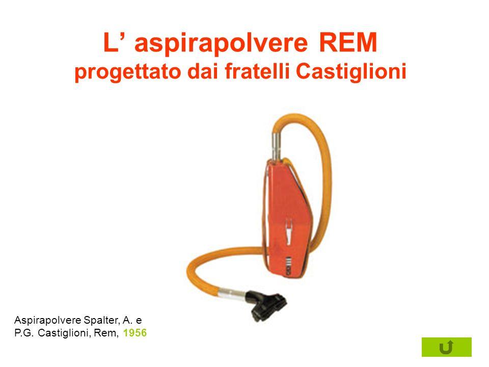 L' aspirapolvere REM progettato dai fratelli Castiglioni
