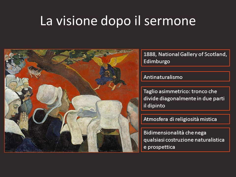 La visione dopo il sermone