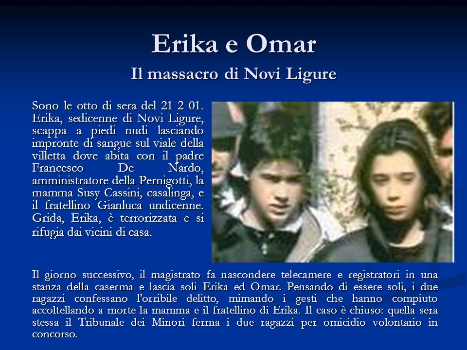 Il massacro di Novi Ligure