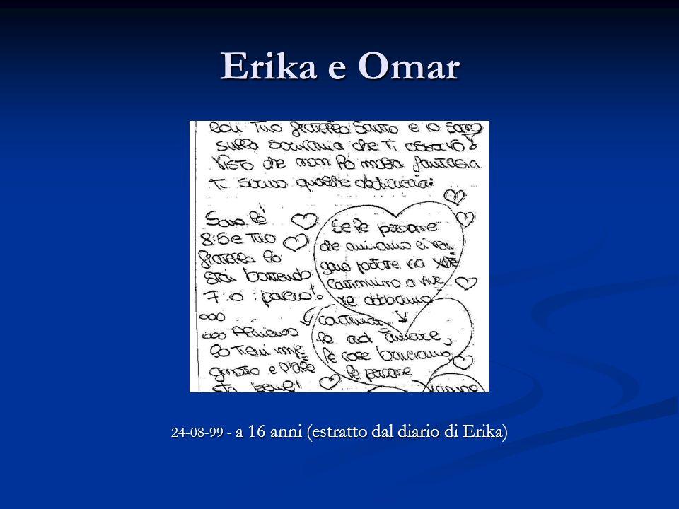 24-08-99 - a 16 anni (estratto dal diario di Erika)