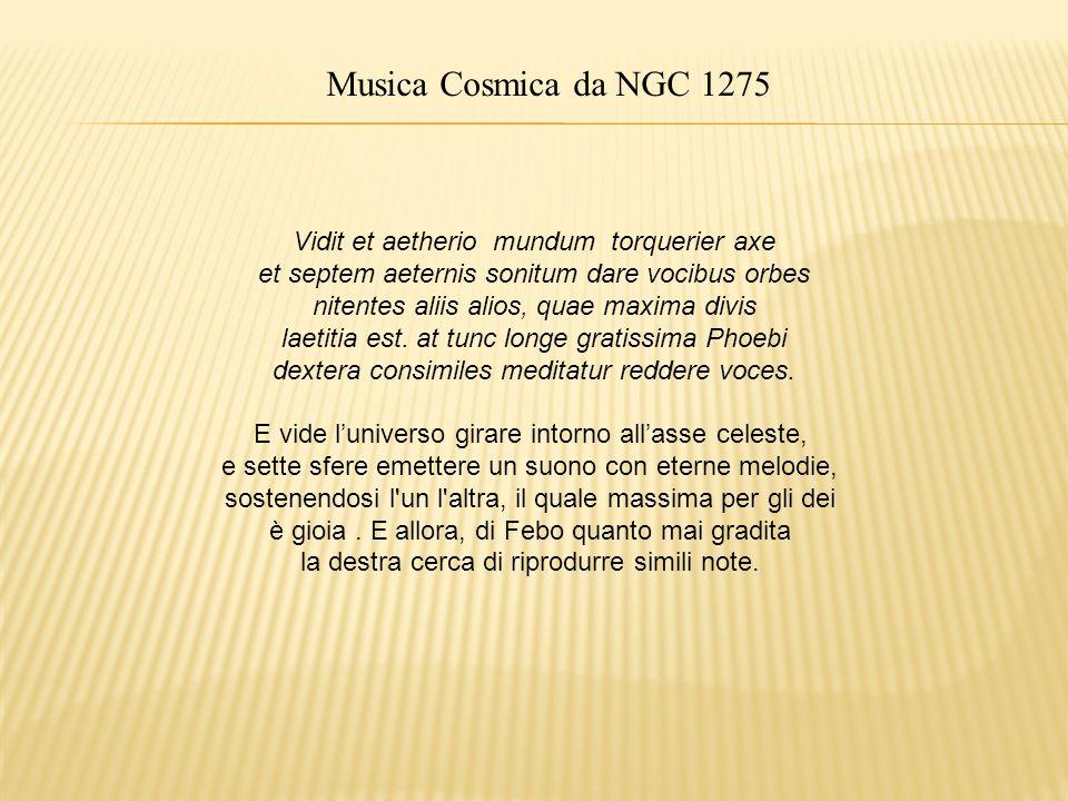Musica Cosmica da NGC 1275