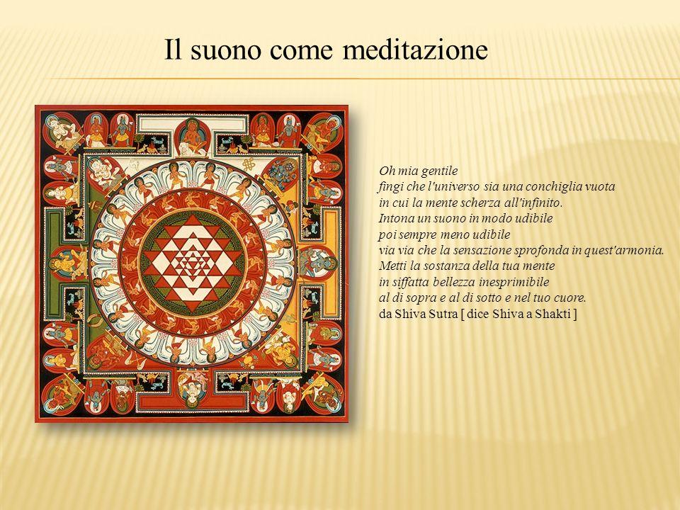 Il suono come meditazione