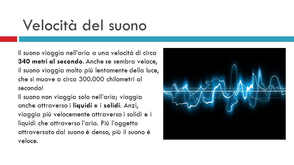 Velocità del suono