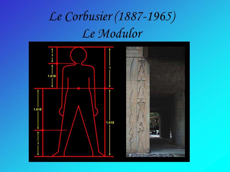 Le Corbusier (1887-1965) Le Modulor